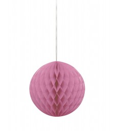 "HONEYCOMB BALL 8"" HOT PINK"