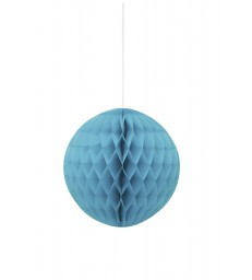 "HONEYCOMB BALL 8"" CARIBBEAN TEAL"