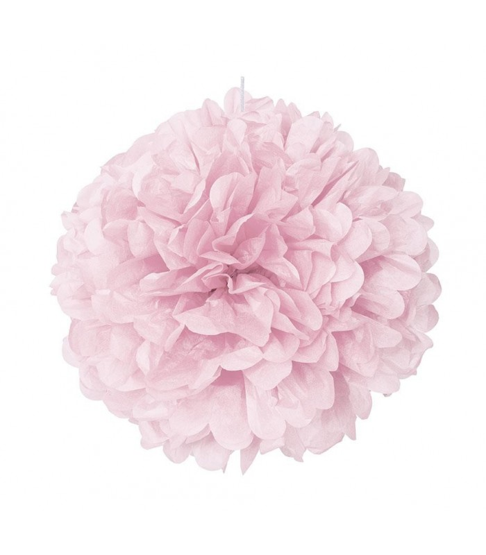 "PUFF DECOR 16"" LOVELY PINK"