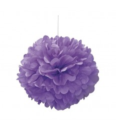 "PUFF DECOR 16"" PRETTY PURPLE"
