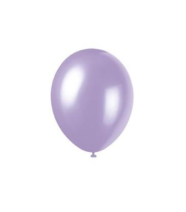 8 12'' PRL LOVELY LAVENDER BALLOONS