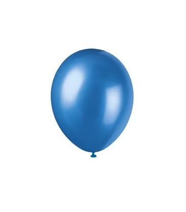 8 12'' PRL COSMIC BLUE BALLOONS