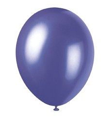 8 12'' PRL ELECTRIC PURPLE BALLOONS
