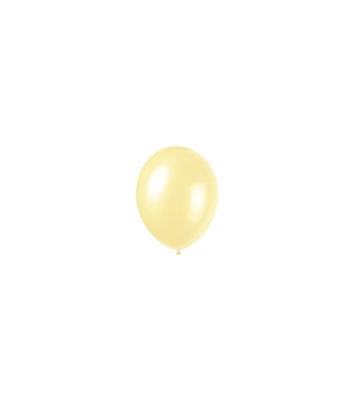 "8 12"" PRL IVORY BALLOONS"