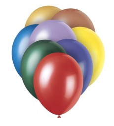 "8 12"" PRL ASSORTED BALLOONS"