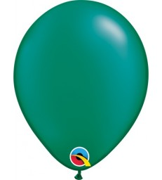"""Pearl Emerald Green Pack of 100 5"""" latex balloons"""
