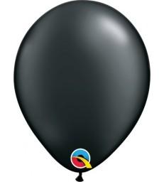 "Pearl Black Pack of 100 5"" latex balloons"