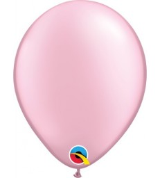 """Pearl Pink Pack of 100 5"""" latex balloons"""