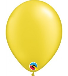 """Pearl Yellow Pack of 100 11"""" latex balloons"""