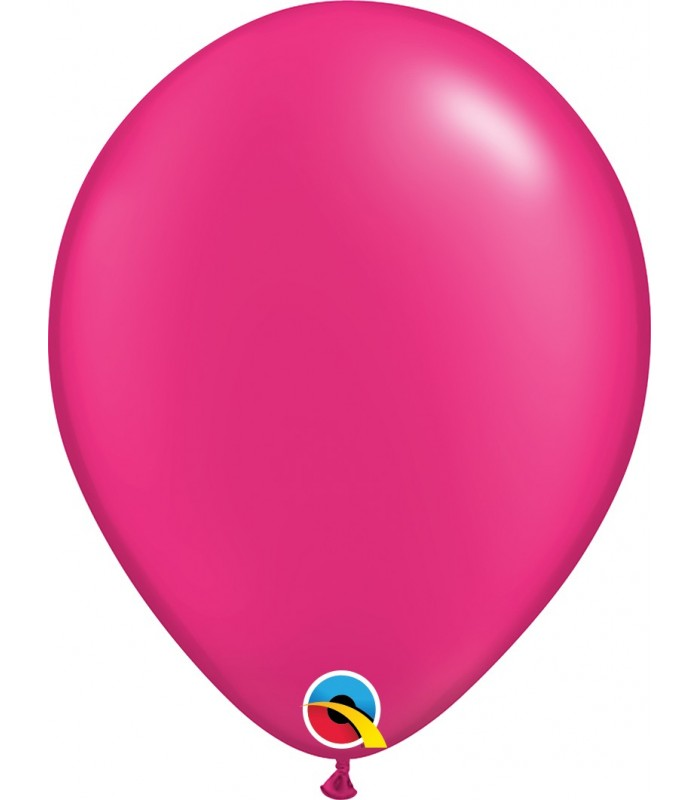 "Pearl Magenta Pack of 100 11"" latex balloons"