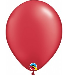 """Pearl Red Pack of 100 11"""" latex balloons"""