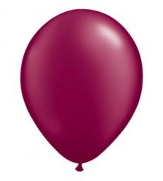 "Pearl Burgundy Pack of 100 11"" latex balloons"