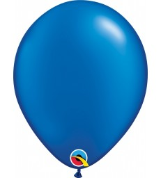"""Pearl Sapphire Blue Pack of 100 11"""" latex balloons"""