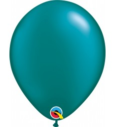 """Pearl Teal Pack of 100 11"""" latex balloons"""