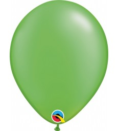 """Pearl Lime Green Pack of 100 11"""" latex balloons"""