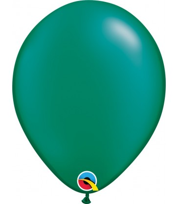 """Pearl Emerald Green Pack of 100 11"""" latex balloons"""