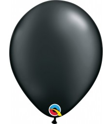 "Pearl Black Pack of 100 11"" latex balloons"