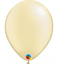 """Pearl Ivory Pack of 100 11"""" latex balloons"""