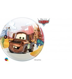 "Disney/Pixar Lightening McQueen & Mater 22"" balloon"