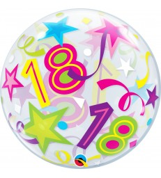 "18 Brilliant Stars 22"" balloon"