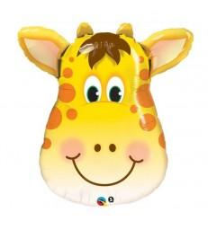 """Jolly Giraffe 32"""" balloon"""