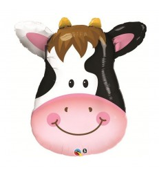 "Contented Cow 32"" balloon"