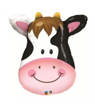 """Contented Cow 32"""" balloon"""