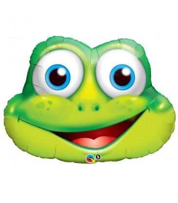 """Funny Frog 32"""" ballooon"""