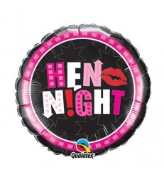 "Hen Night Party 18"" balloon"
