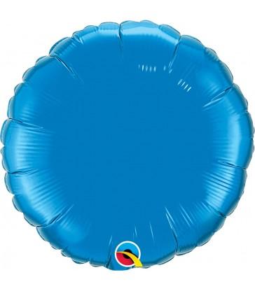 """Sapphire Blue Round 18"""" balloon"""