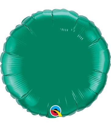"Emerald Green Round 18"" balloon"