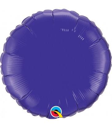 "Quartz Purple Round 18"" balloon"