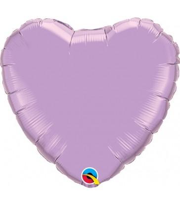 "Lavender Heart 18"" balloon"