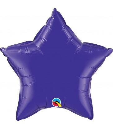 "Quartz Purple Star 20"" balloon"