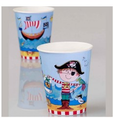 Pirate 8 Party Paper Cups