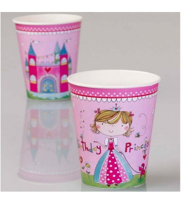 Princess 8 Party Paper Cups