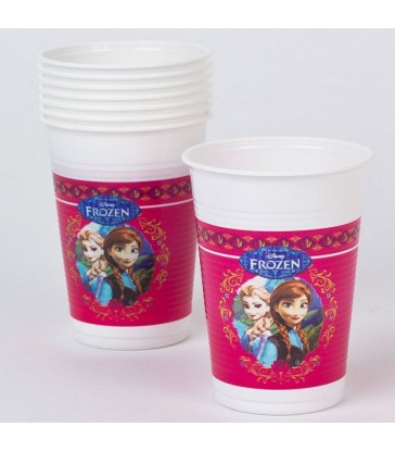 Disney Frozen 8 Plastic Cups