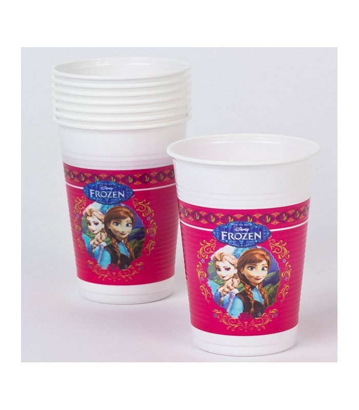 Disney Frozen 8 Plastic Cups