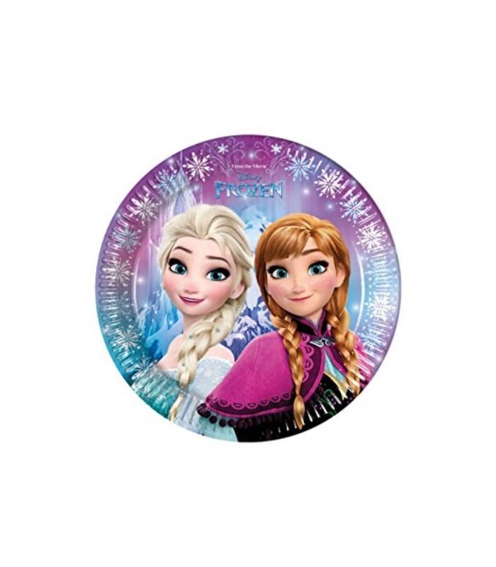 Disney Frozen 8 Paper Plates