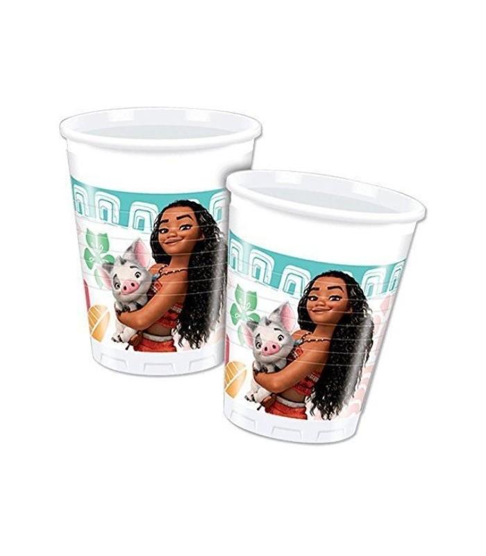 Disney Moana 8 Plastic Cups