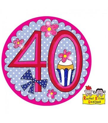 Rachel Ellen - Age 40 Perfect Pink