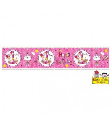 Rachel Ellen - Age 1 Bunny Banner