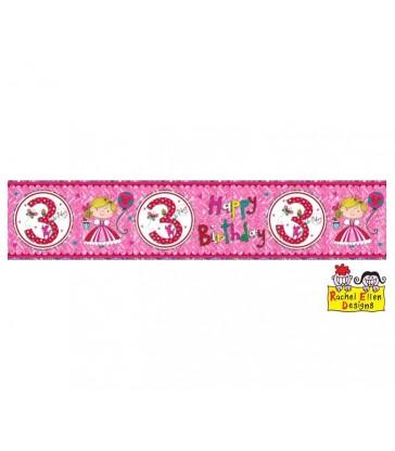 Rachel Ellen - Age 3 Princess Banner