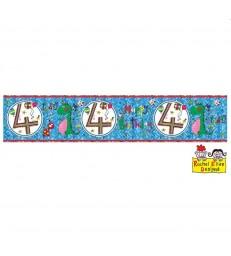Rachel Ellen - Age 4 Dinosaur Banner