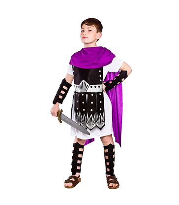 Roman Warrior (Purple/Blk) (8-10)