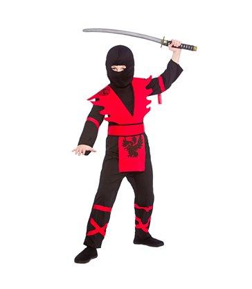 Ninja Assassin - Black / Red (8-10)