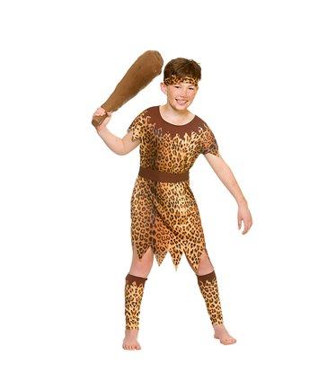 Stone Age Cave Boy (8-10)