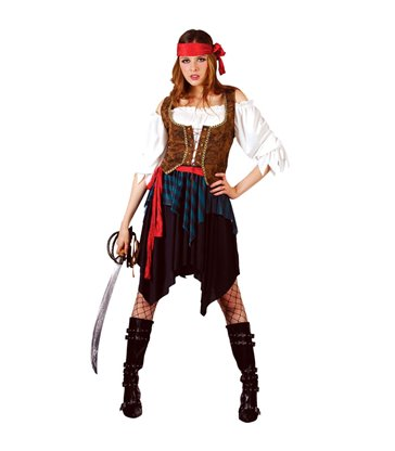 Caribbean Pirate Lady (Deluxe) (M)