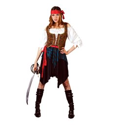 Caribbean Pirate Lady (Deluxe) (XS)