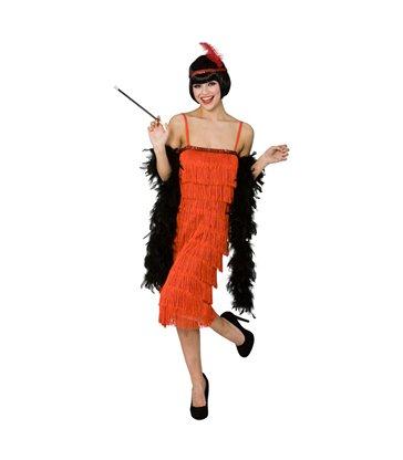 Jazzy Flapper  - Red (S)